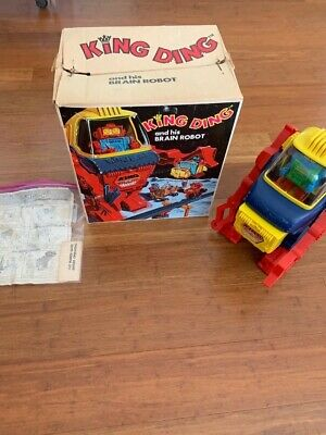 King Ding Topper Robot in Box with Brain and instructions Nice one