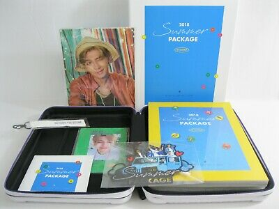 New! BTS 2018 White Summer Package Saipan RM Guide Book Namjoon Mini Poster U.S.