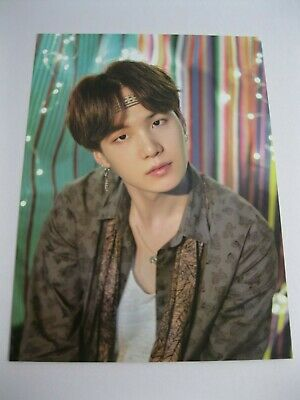 New! BTS 2018 Summer Package In Saipan Suga Mini Poster Min Yoongi - U.S. Seller