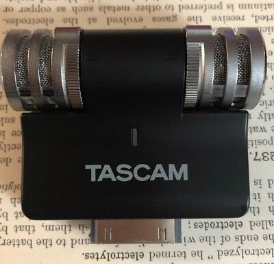 Tascam iM2 Stereo Condenser Microphone for iPhone 4/4S iOS devices Japan F/S