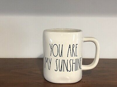 Rae Dunn Artisan Collection By Magenta YOU ARE MY SUNSHINE Ivory LL Mug