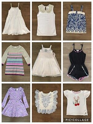 Girls clothes bundle, Size 7-8: Seed, Witchery & more + Pretty party dress