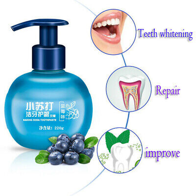 Intensive Stain Removal Whitening Toothpaste Fight Bleeding Gums Toothpaste Blue