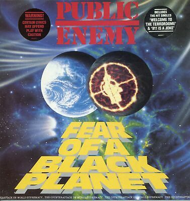 Public Enemy - Fear Of A Black Planet LP UK Reissue!! Big Daddy Kane Ice Cube