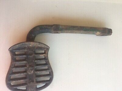 Vintage Buggy Wagon Step Cast Blacksmith Collectable