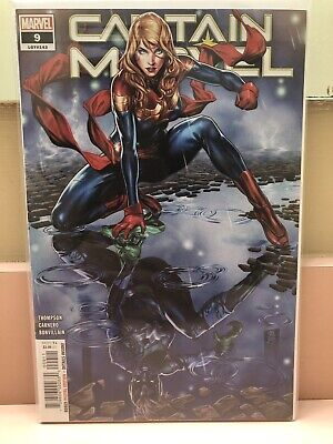 Captain Marvel #9 2019 Marvel Comics 1St Appearance Of Star Mark Brooks Variant