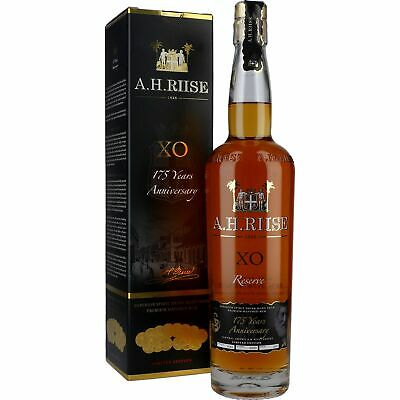 "A.H. Riise X.O. ""175 Years Anniversary Edition"" Rum GIFTBOX 42% 0,7L"
