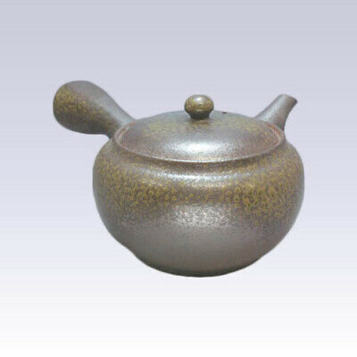Tokoname Kyusu teapot - ISSIN - Black Irabo - 500cc/ml - Refreshing steel net