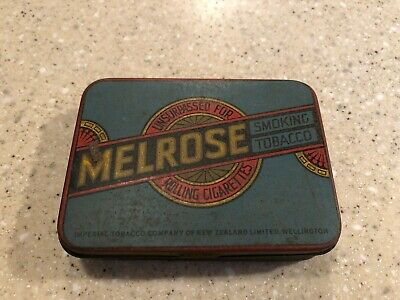 Melrose smoking tobacco tin