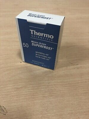 Thermo Scientific Superfrost Microscope slides 4 boxes of 50 = 200 slides EXP.