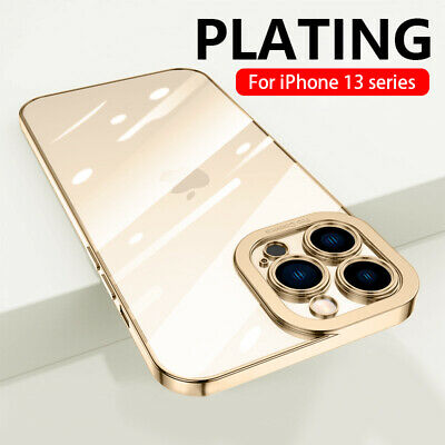For Apple iPhone 11/ 11 Pro Max XR Plating Soft Silicone Hybrid Clear Case Cover