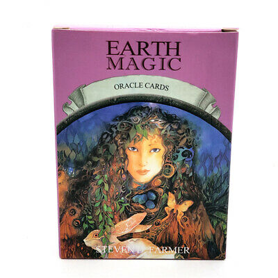 48 Card Magic Oracle Cards Game Earth Magic Read Fate Tarot Deck Kit Set NEW
