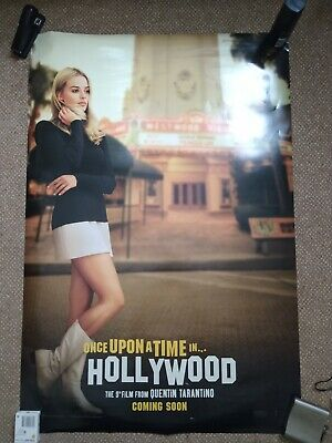 Once Upon A Time in Hollywood Original Cinema One Sheet- Margot Robbie Teaser