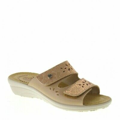 FLY FLOT Q7P56 Ve Nero Ciabatte Donna Made In Italy