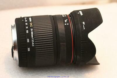 Canon fit Sigma DG 28-300mm Zoom Lens AF EOS EF GREAT CONDITION