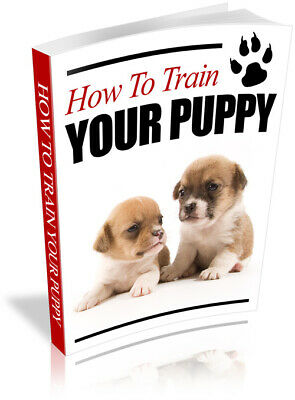How to Train Your Puppy PDF eBook with Private Label Rights PLR