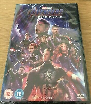 Avengers Endgame DVD (UK Release) BRAND NEW & SEALED EXCELLENT CONDITION