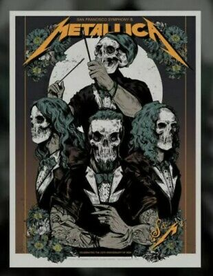Metallica S&M2 Show Edition Concert Poster