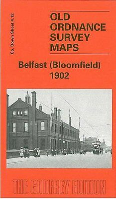 Old Ordnance Survey Map Belfast Bloomfield 1902