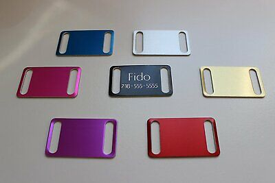 Pet Tags Slider Id Dog Tag Pet Id Personalized Diamond Engraved Custom Tag