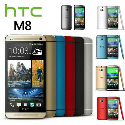 New Factory Unlocked HTC One M8 Black Red Gold Silver Blue 32GB Android Phone
