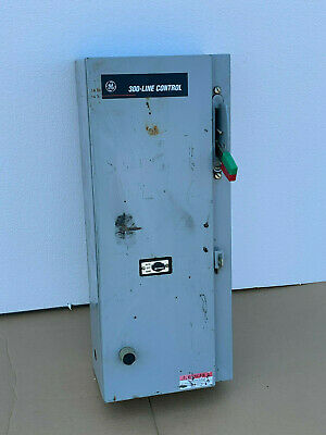 GE CR308 300-Line Combination Magnetic Starter Enclosure NEMA 1 CR308C1**2RADADA