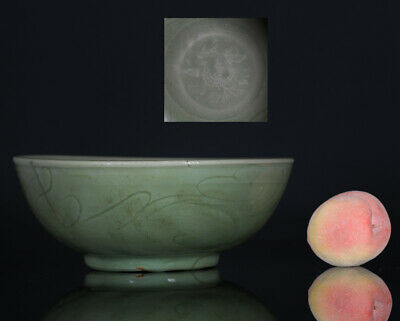 A BEAUTIFUL antique CHINESE PORCELAIN CELADON BOWL LONGQUAN MING 14TH 15TH CENT