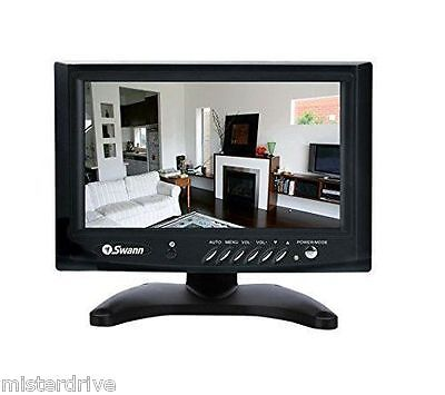 "Swann 7"" Monitor  Color Security SW248-LM7 LCD display with Speaker & ACCESSORY"