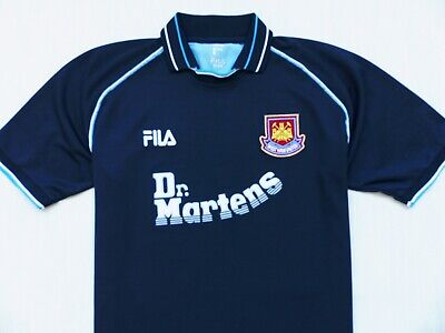 Vintage Shirt Fila West Ham United Third 1999-01 Jersey Trikot Size Xl (X-Large)