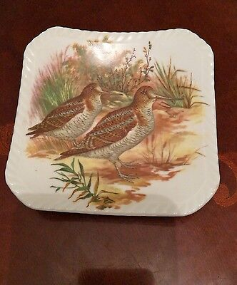Decorative ceramic plate