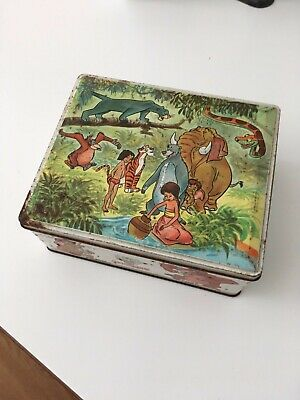 the jungle book walt disney vintage tin can rombouts coffee