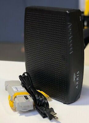 Arris TM722G 8x4 Telephony Cable Modem DOCSIS 3.0 Tested!