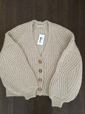 Nwt Sold Out Fall 2019 Ulla Johnson Jelena Cardigan In Cream Xs P