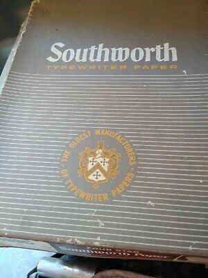 40 Sheets of Vintage Onion Skin Southworth Typewriter Paper