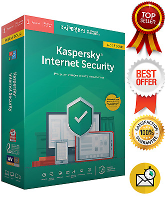 Kaspersky Internet Security 2019 | 1 Pc Device 1 Year | Global Key !Sale!!3.99$