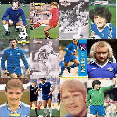 Topical Times Football Annual Single Player Pictures Chelsea - Various Players