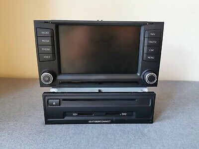 Seat Mib2 radio with touch screen