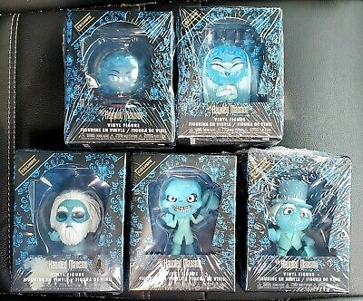 Funko Mystery Minis HAUNTED MANSION HOT TOPIC EXCLUSIVE SET OF 5