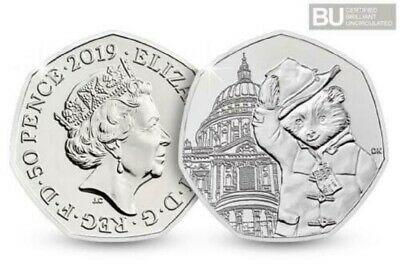 2019 Uk Paddington Bear At St. Paul's Cathedral Certified Bu 50P- Official Uk