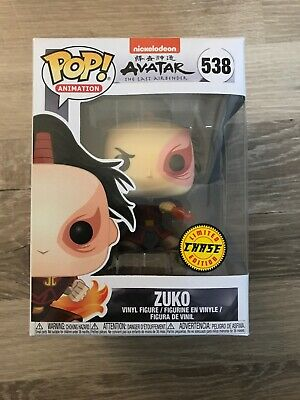 Funko Pop Animation: Nickelodeon: Avatar The Last Airbender: Zuko Chase #538 NIB