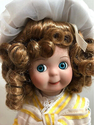 Antique Reproduction Googly Jdk Full Porcelain Usps Patricia Loveless Doll +Pins
