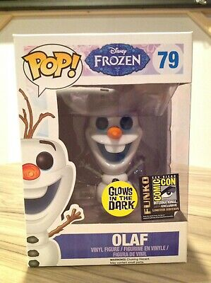 Funko Pop! Disney Frozen Olaf GITD SDCC Exclusive #79