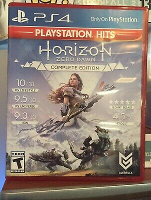 Horizon: Zero Dawn Complete Edition (Sony PlayStation 4, 2017) Code Included!!