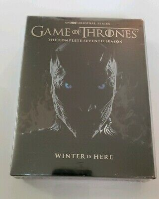 Game of Thrones: The Complete Seventh Season 7 (DVD,2017) BOX SET, Sealed