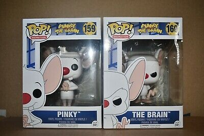 Funko Pop Pinky and the Brain 159 160 Lot