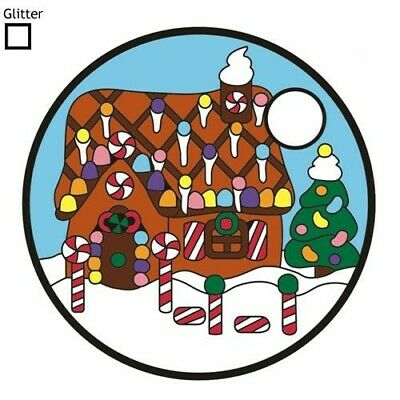 Pathtag 15119 - Gingerbread House - Christmas - Glitter