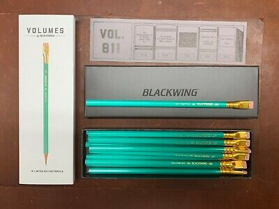 Blackwing Pencils- Volume 811 - Box of SOLD OUT glow in the dark Library Tribute