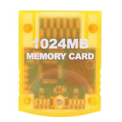 1024MB Game Memory Cards Block Fit for Nintend Wii Gamecube GC Games Console