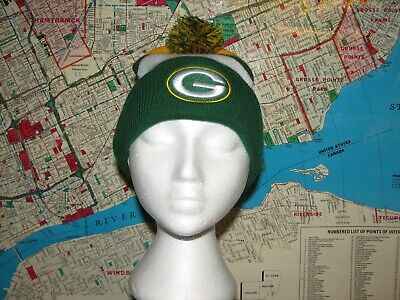 Green Bay Packers Touque Hat Bud Light Usa Football Winter Wisconsin Nfl Beer