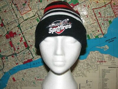 Windsor Spitfires Touque Hat Child Chl Canada Kids Warm 47Th Brand Hockey Ohl